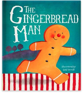 The Gingerbread Man children's holiday book