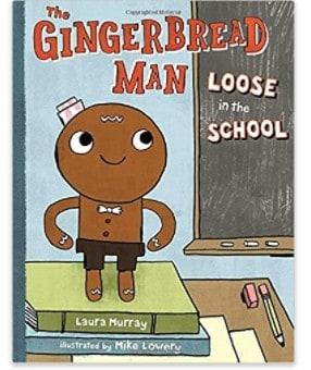 The Gingerbread Man Loose in School children's book