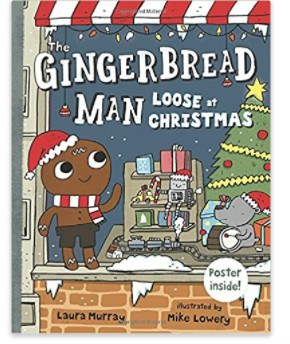 The Gingerbread Man Loose at Christmas kids book