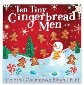 Ten Tiny Gingerbread Men children's book