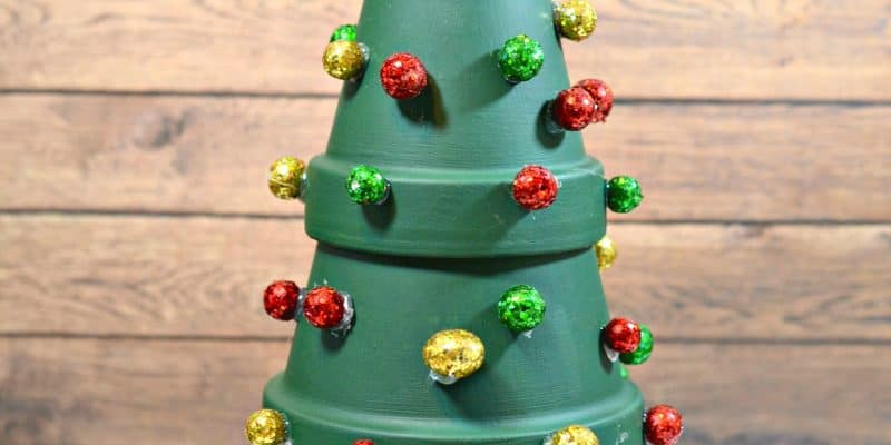 Terracotta Christmas Trees Holiday Home Decor