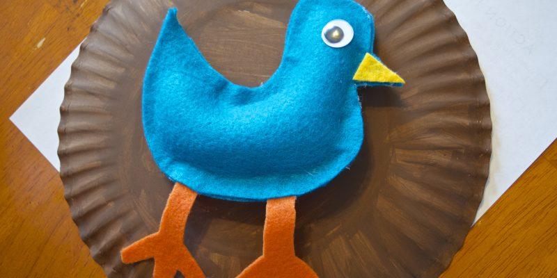 felt bird toy tutorial