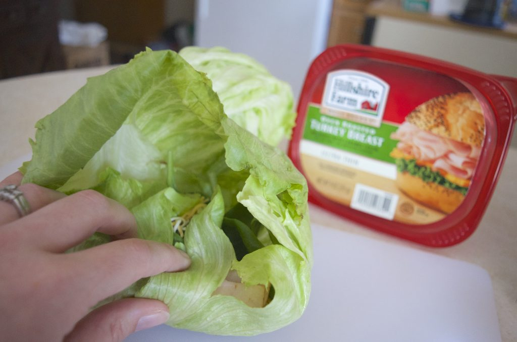 Hillshire Farm® Lunch Meat Grocery Lettuce Wrap Recipe