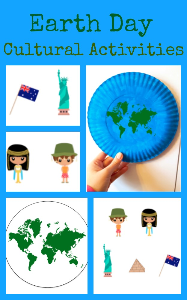 Earth Day Paper Plate Amp Cultural Globe Activities