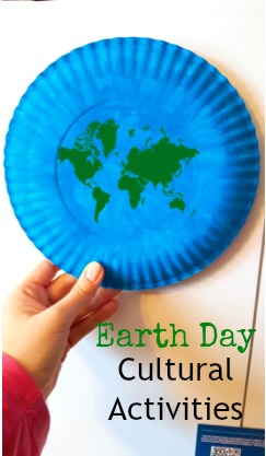 Earth Day Paper Plate Around The World Cultural Activities