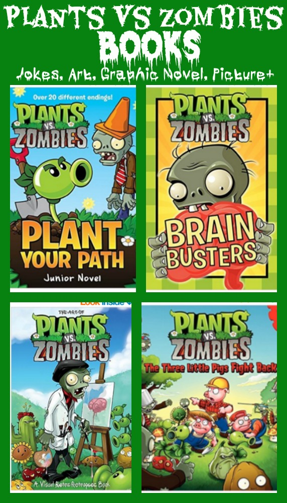 Plants vs Zombies Books for Kids - Graphic Novels, Picture books, joke books, fairy tale books and more