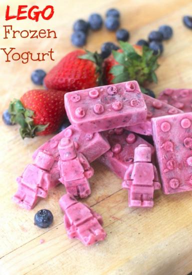 LEGO Frozen Yogurt Snack Kids