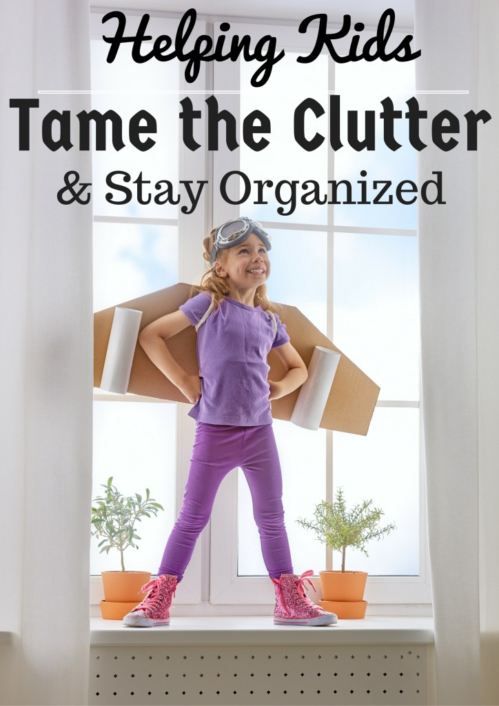 Teaching Kids to Tame the Clutter: How My Kids Keep Their Bedroom Organized