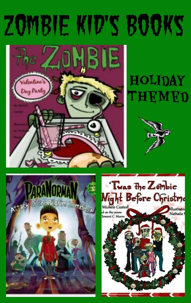 Zombie Books for Kids - Holiday Themed