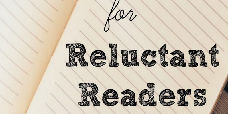 10 Types of Books for Reluctant Readers to Try