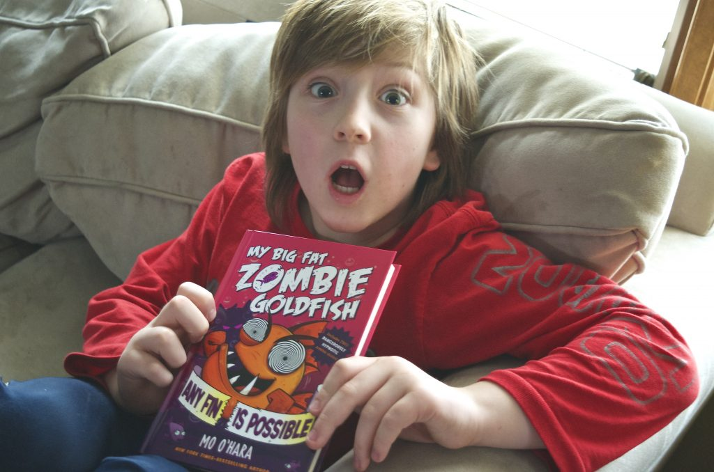 My Big Fat Zombie Goldfish: Any Fin is Possible book by Mo O'Hara