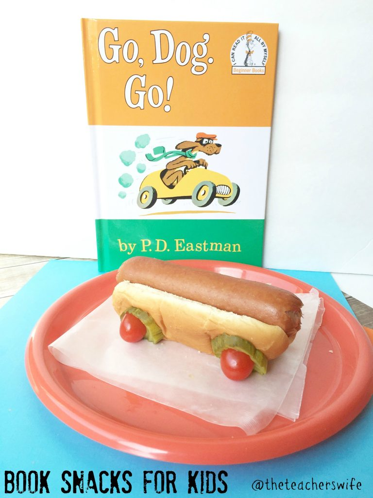 Go Dog Go Children's Book Snacks for Kids
