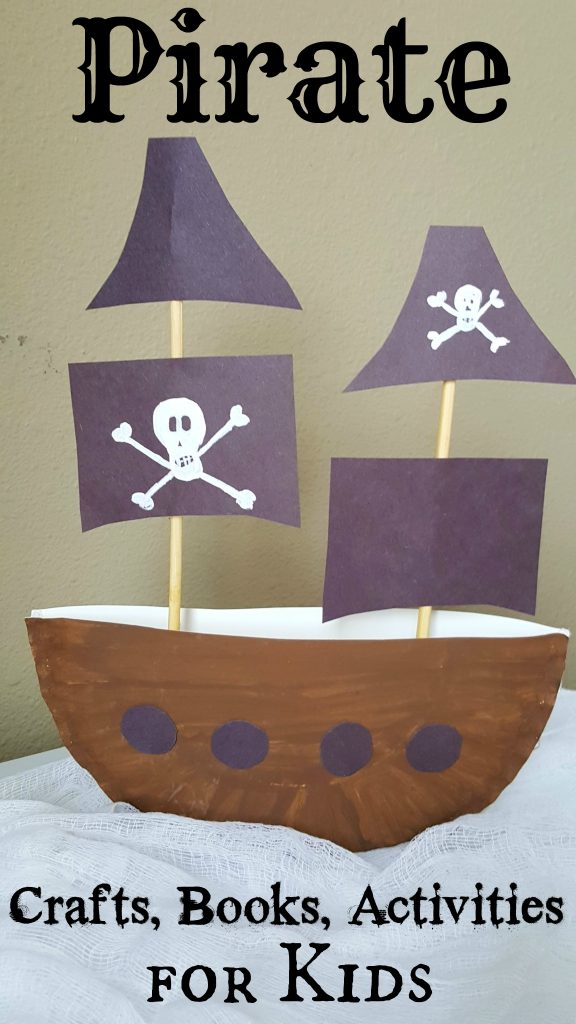 Pirate Crafts Books and Activities for Kids