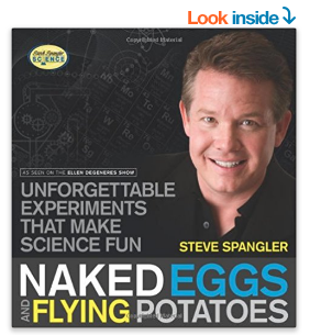 Steve Spangler science experiment book