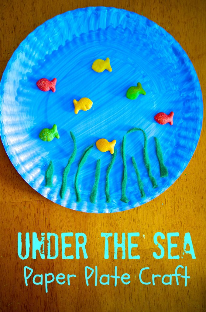 sc 1 st  Surviving A Teacheru0027s Salary & Under the Sea Ocean Paper Plate Craft for Preschool Kids