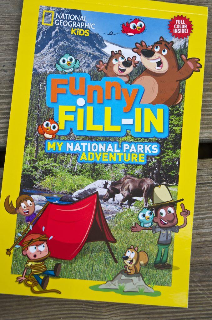 Funny Fill in National Geographic Kids National Park Adventure Books