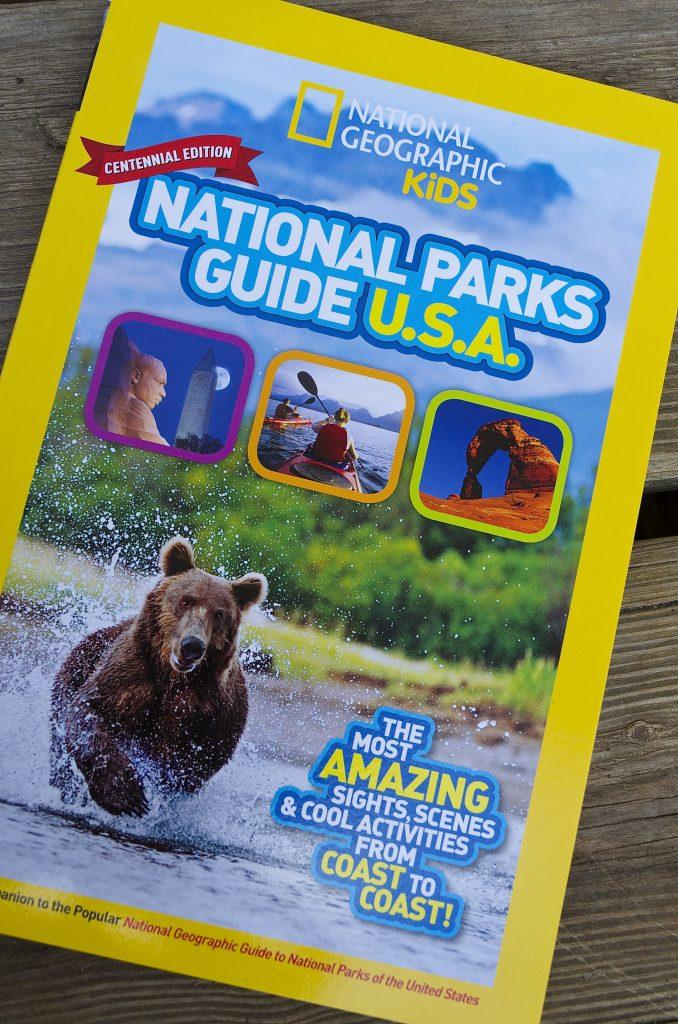 National Geographic Kids National Park Junior Ranger Books