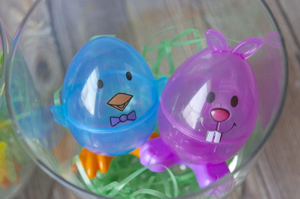 DIY Easter Home Decor Apothecary Jar
