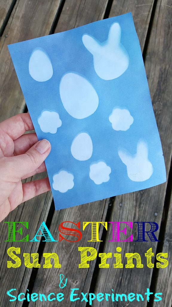 Easter Sun Prints & Science Experiments