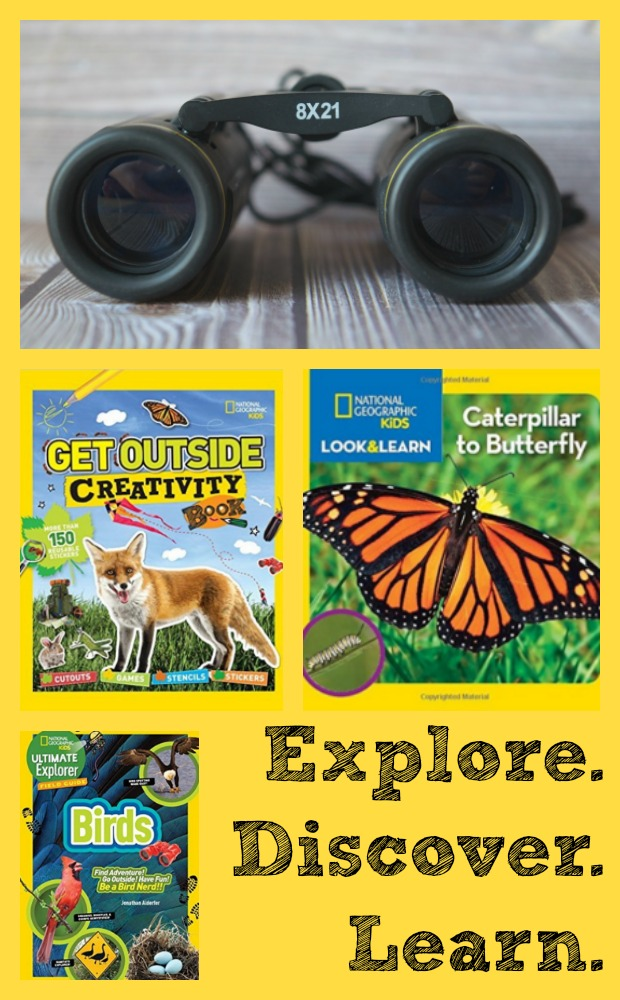 Explore the Outdoors National Geographic Kids