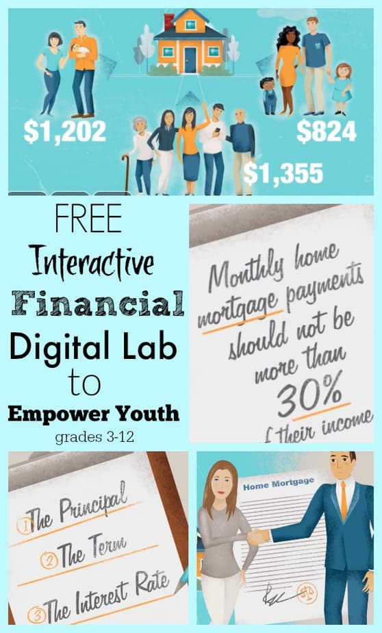 Free Interactive Financial Digital Lab to Empower Youth
