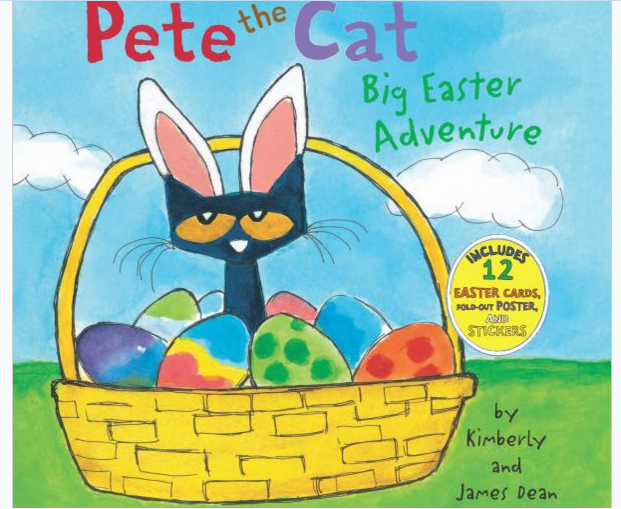 Pete the Cat Easter book & Pete the Cat Children's TV SHOW