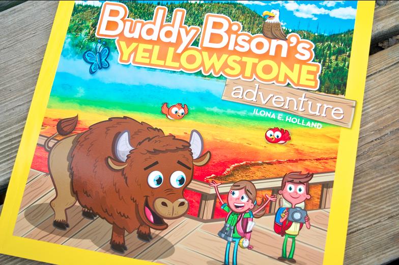 National Geographic Kid's Buddy Bison's Yellowstone Adventure children's book
