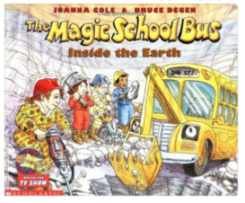 Magic School Bus Inside the Earth Book