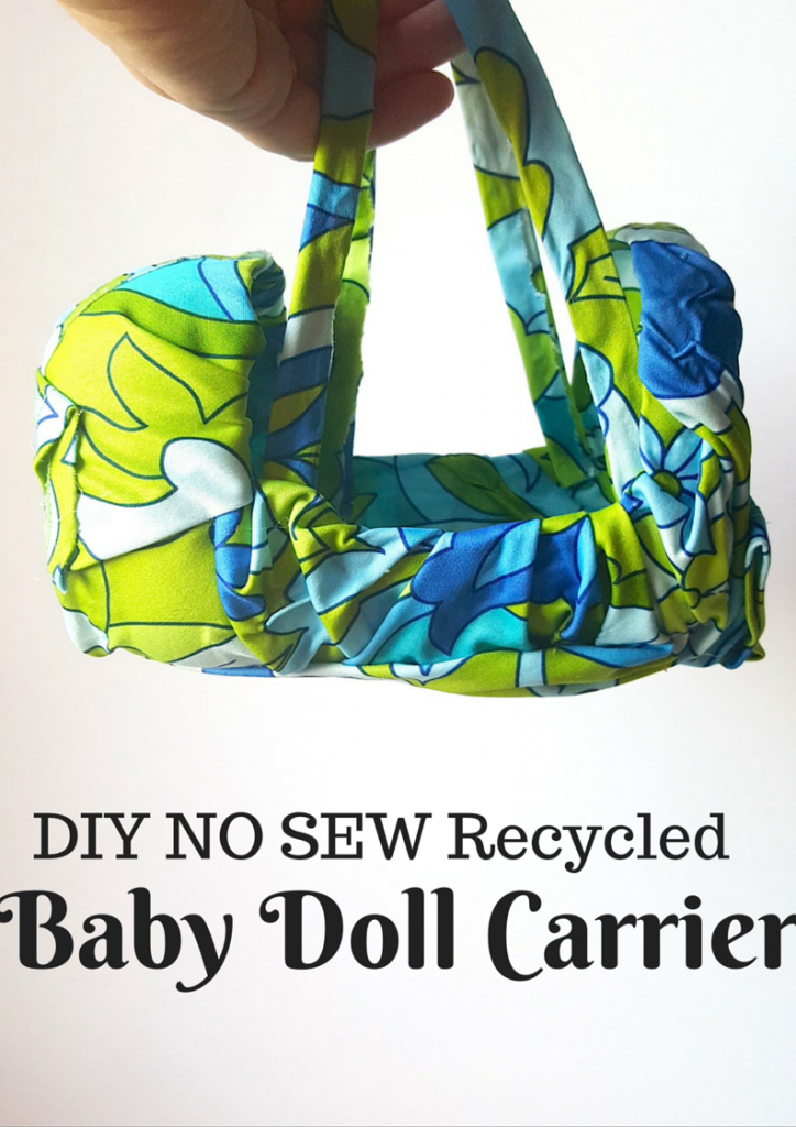 DIY Recycled Baby Doll Carrier