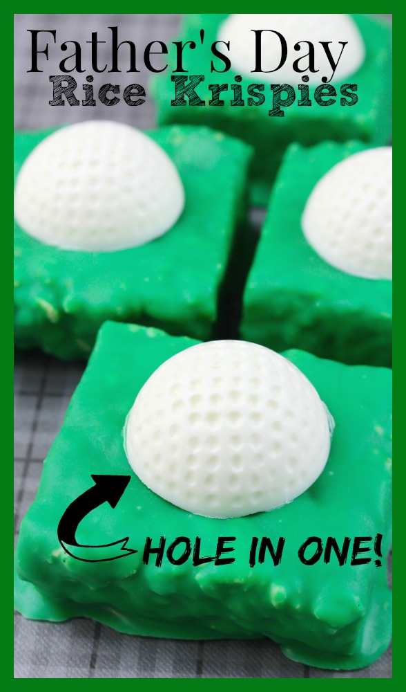 Father's Day Recipe Golf Treats