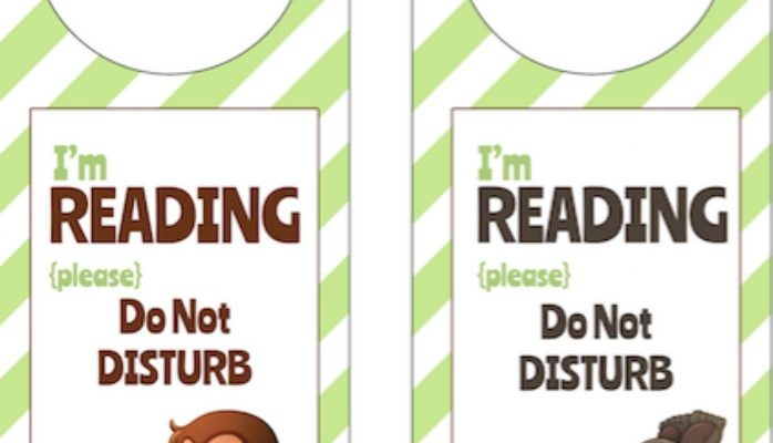 Free Printable Reading Doorhangers