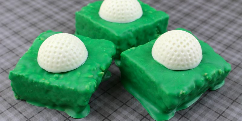 Father's Day Recipe for Kids: Hole in One Golf Ball Rice Krispies