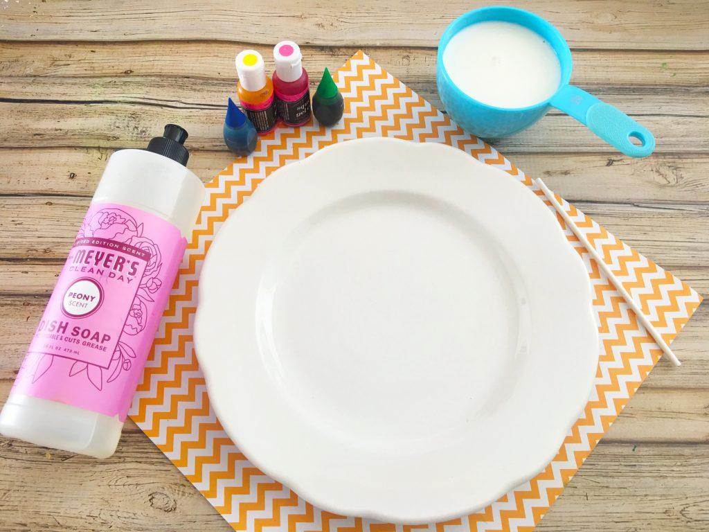 ingredients for Marbled Milk Explosion Artwork