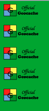 Official Geocache Printable Signs & Log