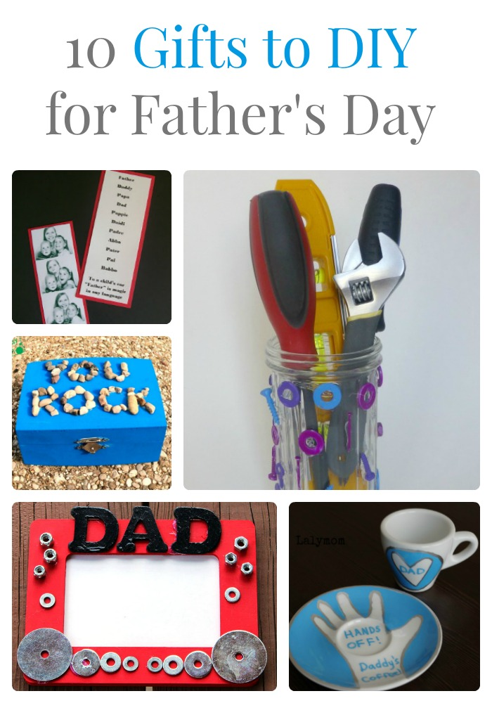 10 DIY Gifts for Father's Day final