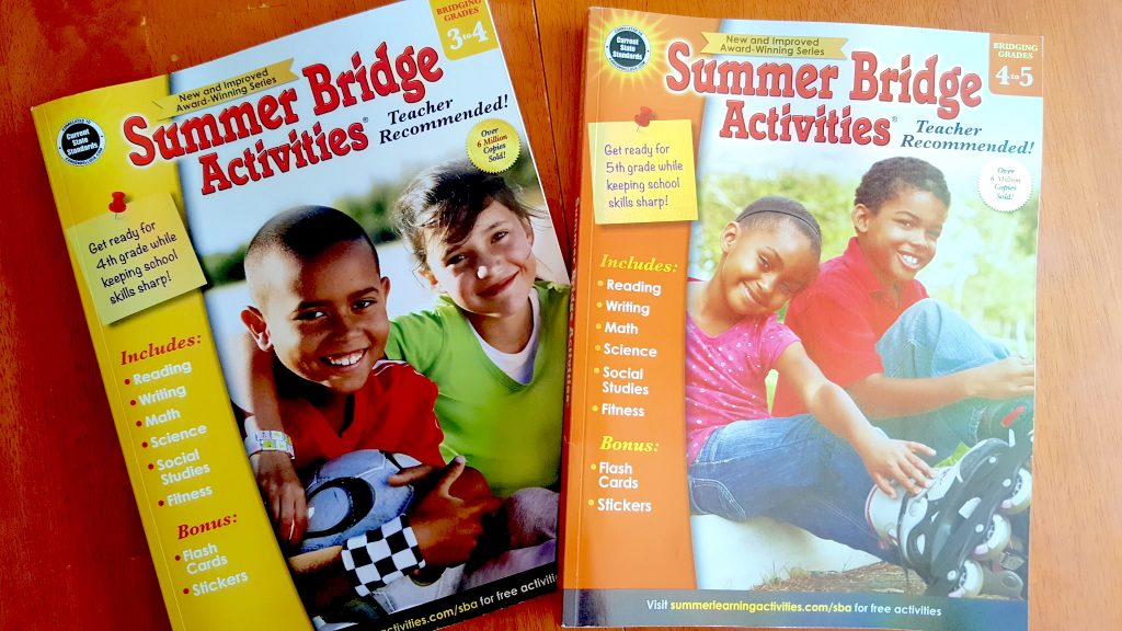 Carson Dellosa Summer Bridge Activities Books for Kids Brain Drain