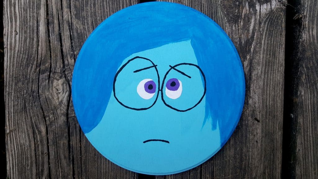 sadness inside out emotions character disney pixar