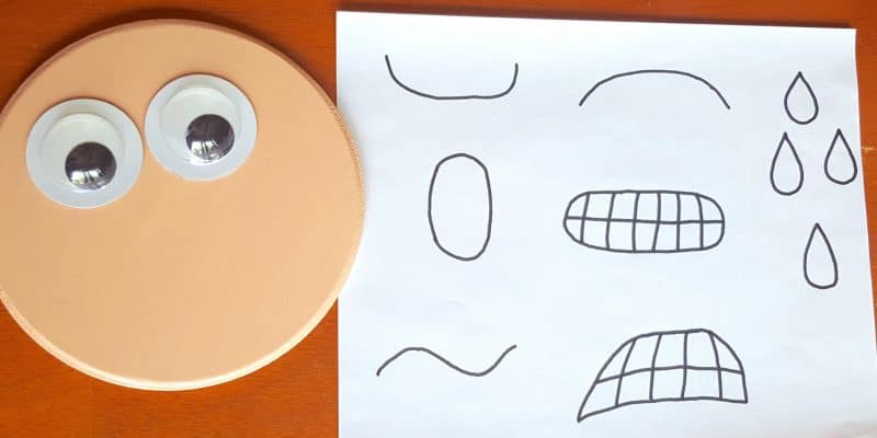 DIY Emotions Face Interchangeable Craft