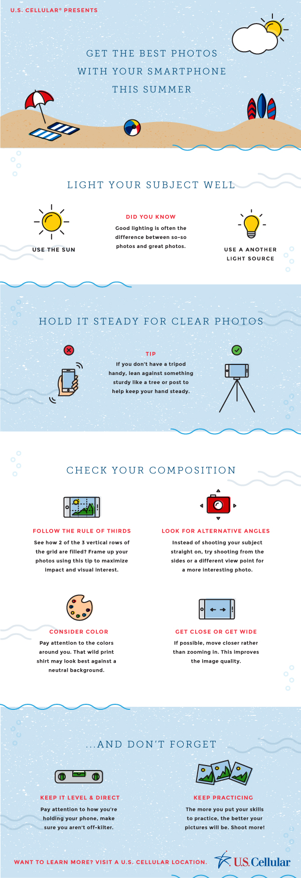 U.S. Cellular Smartphone Photography tips