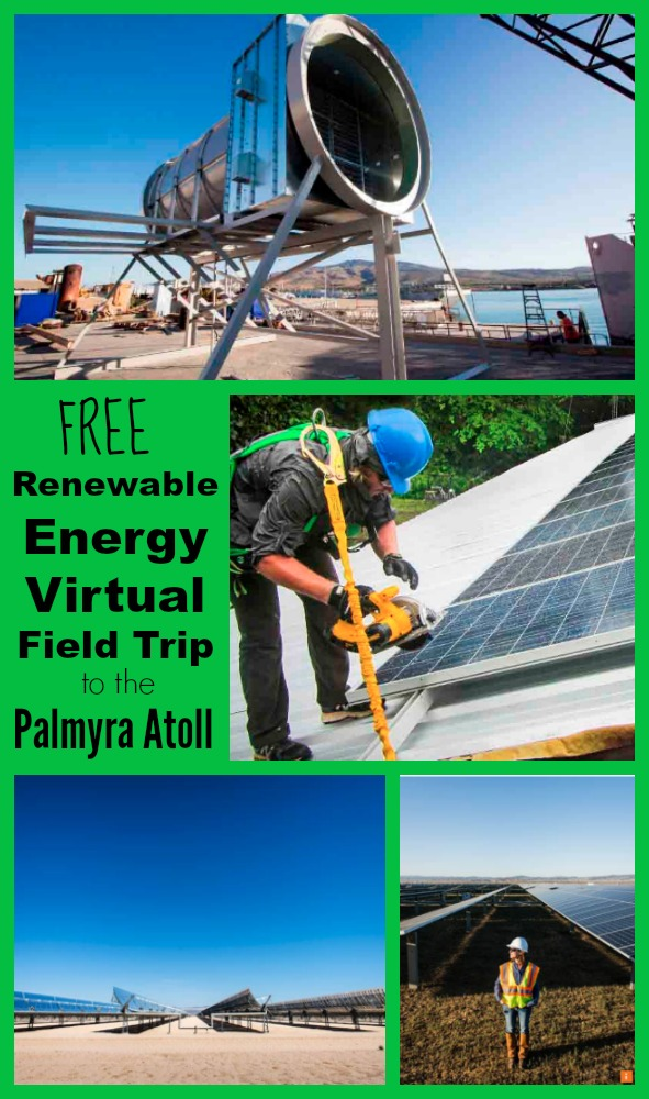 Free Renewable Energy Virtual Field Trip Palmyra Atoll
