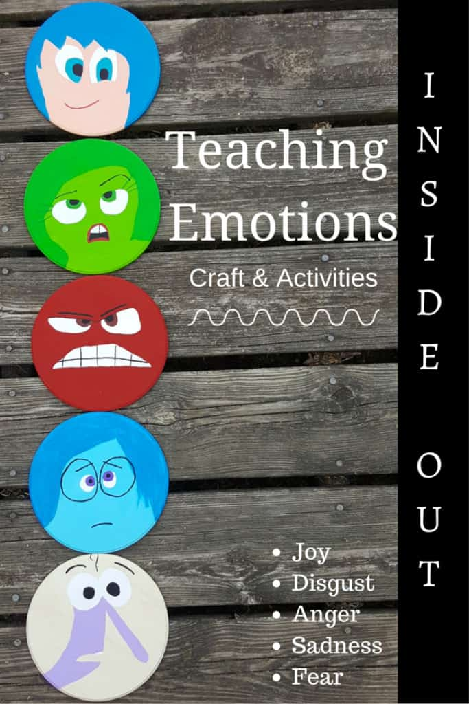 teaching emotions inside out decor