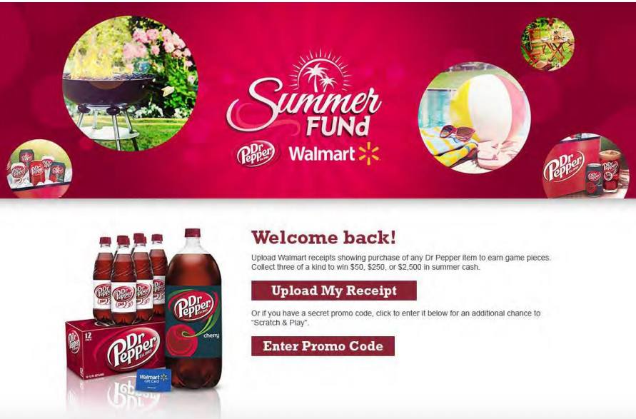 Dr Pepper® Summer FUNd Sweepstakes