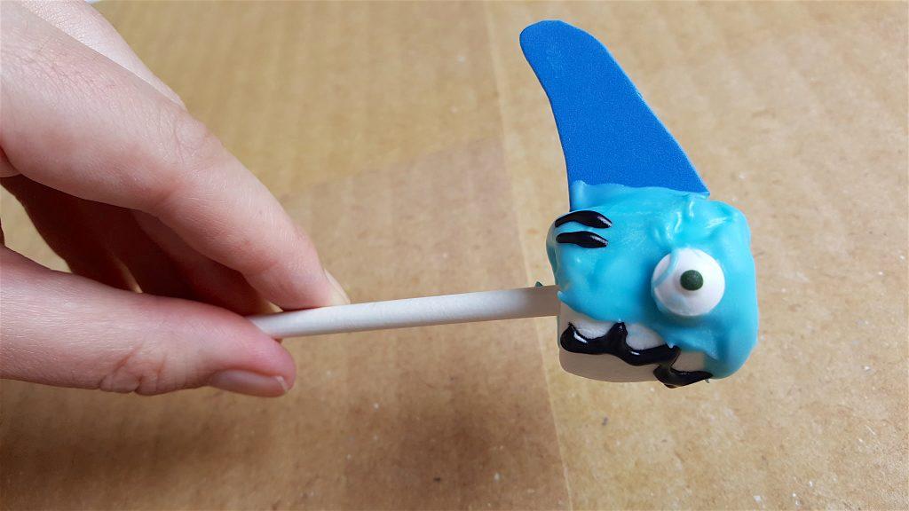 Shark Week Recipe Marshmallow Treats for KIds