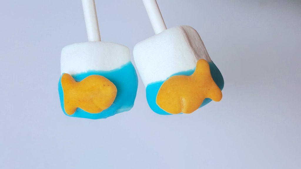 Under the Sea Ocean Marshmallow Treats for Kids