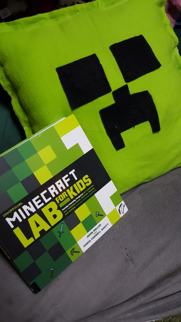 The Unofficial Minecraft Lab Book Review