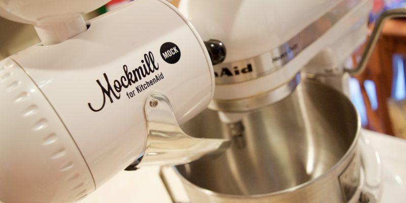 Mockmill Grain Mill Attachment for Stand Mixer