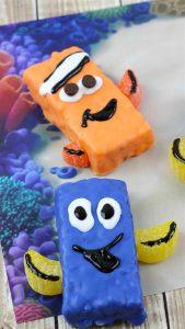 Finding Dory Nemo Rice Krispy Treat Recipe