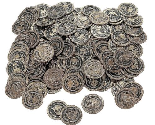 Pirate Coins Treasure