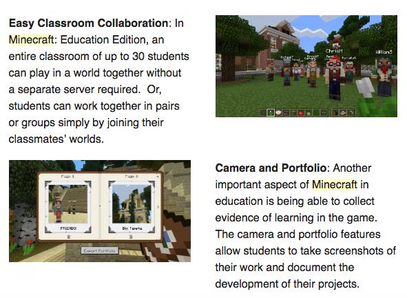 Minecraft Education Edition for teachers