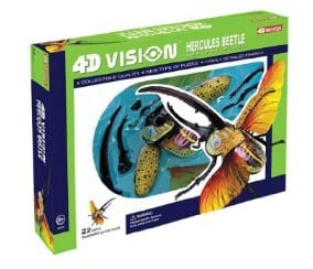 Hercules Beetle Anatomy Model Bug Science Kit for Kids